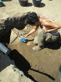 An archaeological mystery in a half-ton lead coffin