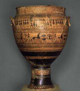 A toast to history: 500 years of wine-drinking cups mark social shifts in ancient Greece