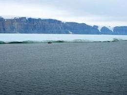 Greenland glacier calves island 4 times the size of Manhattan