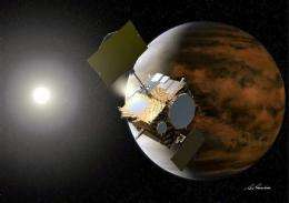 Japan probe reaches Venus but shuts itself down (AP)