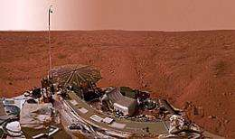 Mars' atmosphere revealed using Professor's device