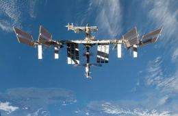 NASA image shows the International Space Station in 2009