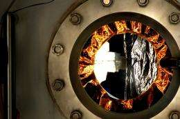 NASA tests hardware for space by simulating the sun's power