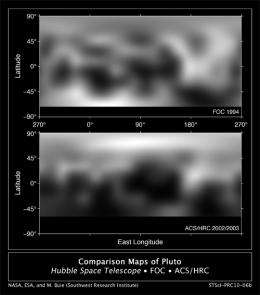 New Hubble Maps of Pluto Show Surface Changes (w/ Video)