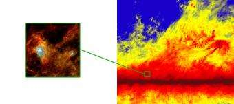 Planck sees tapestry of cold dust (w/ Video)