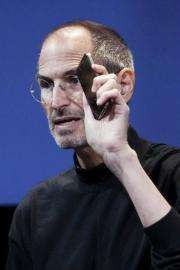 Steve Jobs, CEO of Apple Computer Inc.