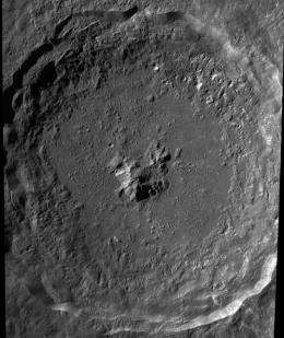 The Floor of Tycho Crater