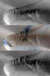 Winds of change strike Mars, too
