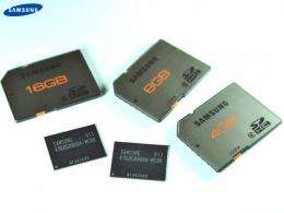Samsung Intros Industry's First Higher-performing 20nm-class NAND Flash Memory