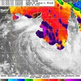 Tropical Storm Olga: Three times a lady