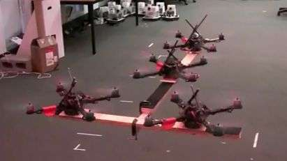 GRASP lab demonstrates quadrotors (w/ Video)