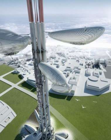 Futuristic Taiwan tower to have floating observatories