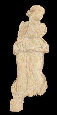Goddess of fortune found in Sussita