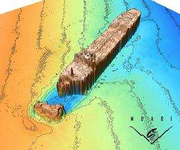 Help from sonar determines whether historic shipwreck poses oil pollution threat