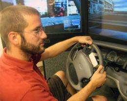 Let your fingers do the driving