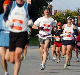 Mathematical model helps marathoners pace themselves to a strong finish