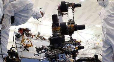 Next Mars Rover Stretches Robotic Arm