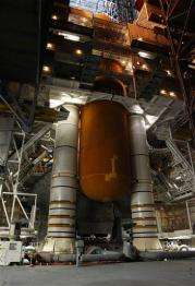 Space shuttle Discovery's mission delayed again (AP)