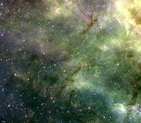 Turbulent and Colourful LMC Region Imaged from La Silla 2