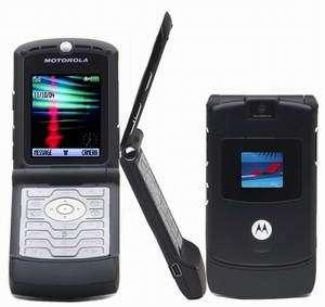 Motorola RAZR BLK V3 is Back... in Black