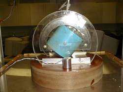 Geophone is an instrument used to detect vibrations passing through the earth's crust.