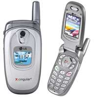 Cingular, LG launch two new cell phones