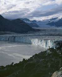Columbia Glacier, September 2005.