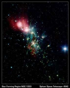 The star-forming region NGC 1333