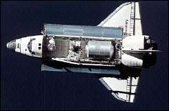 US space shuttle Discovery