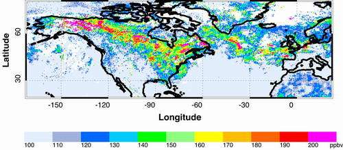 NCAR Analysis Shows Widespread Pollution from 2004 Wildfires