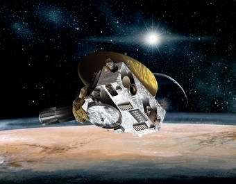 New Horizons spacecraft, Pluto