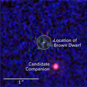 Hubble's Infrared Eyes Home in on Suspected Extrasolar Planet