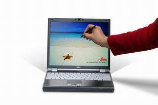Fujitsu's New LifeBook B6000 Touch Screen Notebook