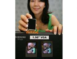 Samsung Intros First 1.98'' LCD to Achieve VGA with Amorphous Silicon
