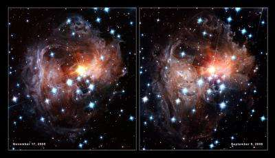 Latest views of the V838 Monocerotis light echo from Hubble