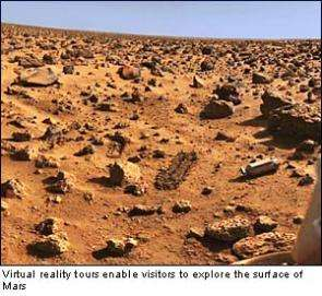 'Rough Guide to Mars' – scientists offer virtual reality tours of the surface of Mars