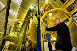 Stefan Bathe and the PHENIX detector at the Relativistic Heavy Ion Collider