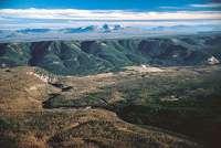 The rim of the Yellowstone Caldera