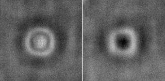 Reversible microlenses to speed chemical detection
