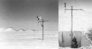 Antarctic snow inaccurate temperature archive