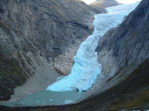Glacier in Norway