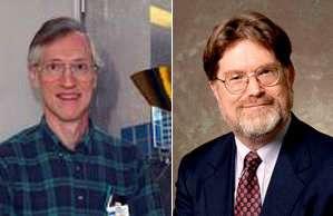 John C. Mather and George F. Smoot.