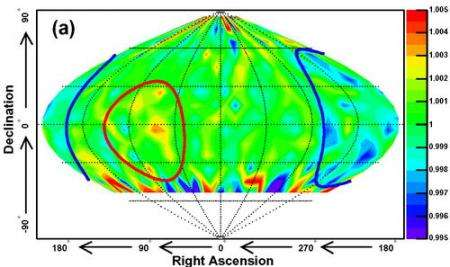 Super-Kamiokande Finds Structure in the Cosmic Ray Sky