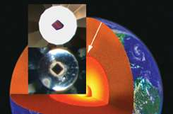 Minerals go 'dark' near Earth's core