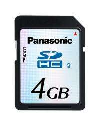 Panasonic is Developing 4 GB SDHC Memory Card