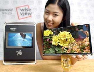 Samsung Introduces Advanced Mobile and Digital Information Displays