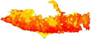 New maps emphasize the human factor in wildfire management