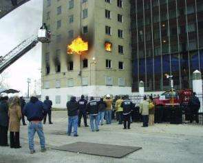 NIST Test Fans the Flames for High-Rise Fire Safety