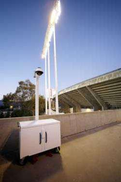 Sandia's Rapidly Deployable Chemical Detection System tested at McAfee Stadium
