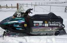 Utah State University Electric Snowmobile